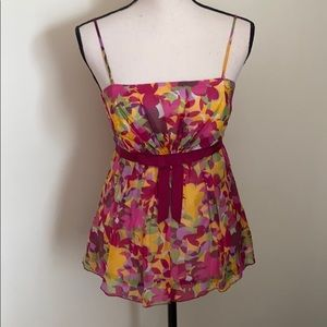 Anthropologie Anna Sui Babydoll Bow Tank Corset 2